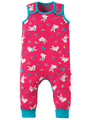 50% OFF! Frugi Kneepatch Dungaree: Holibob Bunny