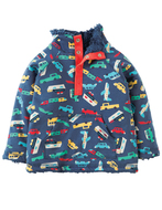 40% OFF! Frugi Little Snuggle Fleece: Bon Voyage
