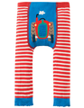 50% OFF! Frugi Little Knitted Leggings: Tractor