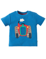 50% OFF! Frugi Little Wheels Applique Top: Tractor