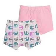 55% OFF! Grovia Underwear Pack of 2: Pastel Sloths