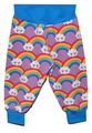 6-9m Cuff Pants: Lilac Rainbows