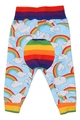 0-3m Max Joggers: Rainbows