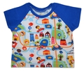 0-3m Raglan Tshirt: Traffic