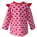 12-18m Kitty Flutter Sleeve Top