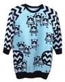 4-5yrs Raglan Faux Pocket Dress: Pandas