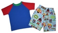2T Superhero Shorts and Tshirt Set