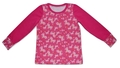 2-3yrs Long Sleeved Tshirt - Ponies: