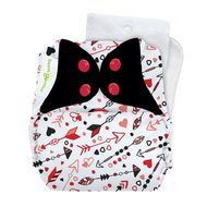 NEW! Bumgenius 5.0 Onesize Pocket Nappy: Be Mine