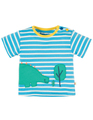 50% OFF! Frugi Felix Wrap Around Top: Dino  0-3 3-6
