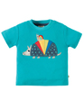 50% OFF! Frugi Applique Top: Armadillo  0-3 3-6
