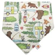 NEW! Smart Bottoms Bandana Bib: Campfire Tails