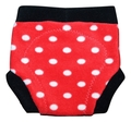 Kingdom of Fluff Fleece Soaker: Polka Dot