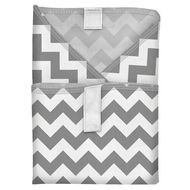 NEW! Planetwise Sandwich Wrap: Grey Chevron