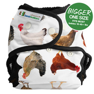 NEW! Best Bottoms Bigger Nappy Shell: Mother Clucker