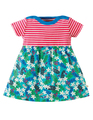 50% OFF! Frugi Boat Neck Body Dress: Daisy Chipmunks